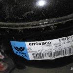 замена компрессора Embraco